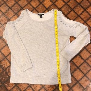 Forever 21 Cold Shoulder Cut Out Sweater